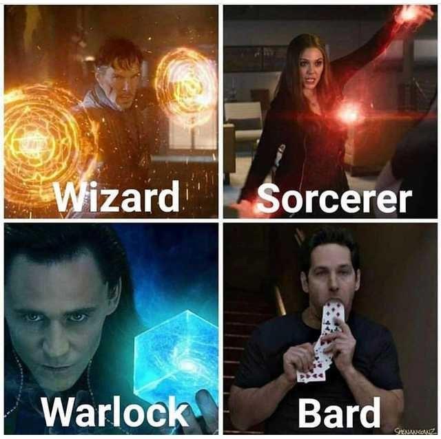 Sky - Wizard Sorcerer Warlock Bard SPENANGGNZ