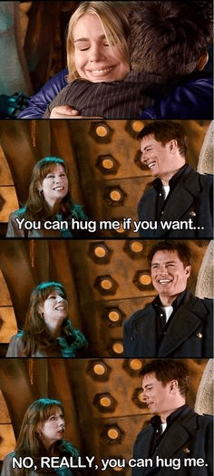 Movie - You can hug me if you want... NO, REALLY, you can hug me.