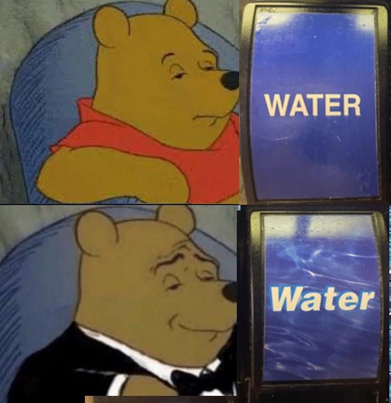 Cartoon - WATER Water