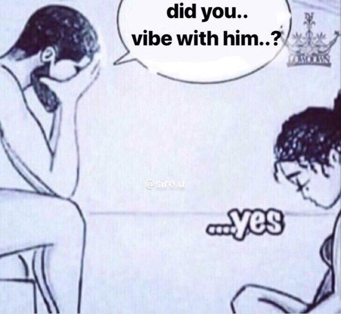 Cartoon - did you.. vibe with him..?/ TrAsOAIN @sire.u yes
