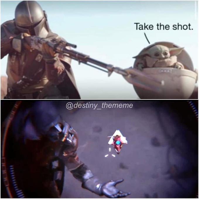 Action figure - Take the shot. @destiny_thememe