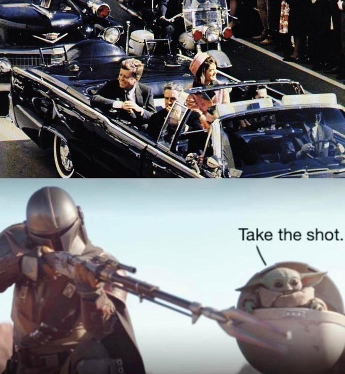 Action figure - Take the shot.