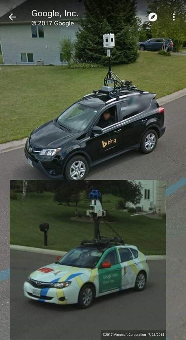 Land vehicle - Google, Inc. © 2017 Google bing Googlem Shee Vas ©2017 Microsoft Corporation | 7/28/2014