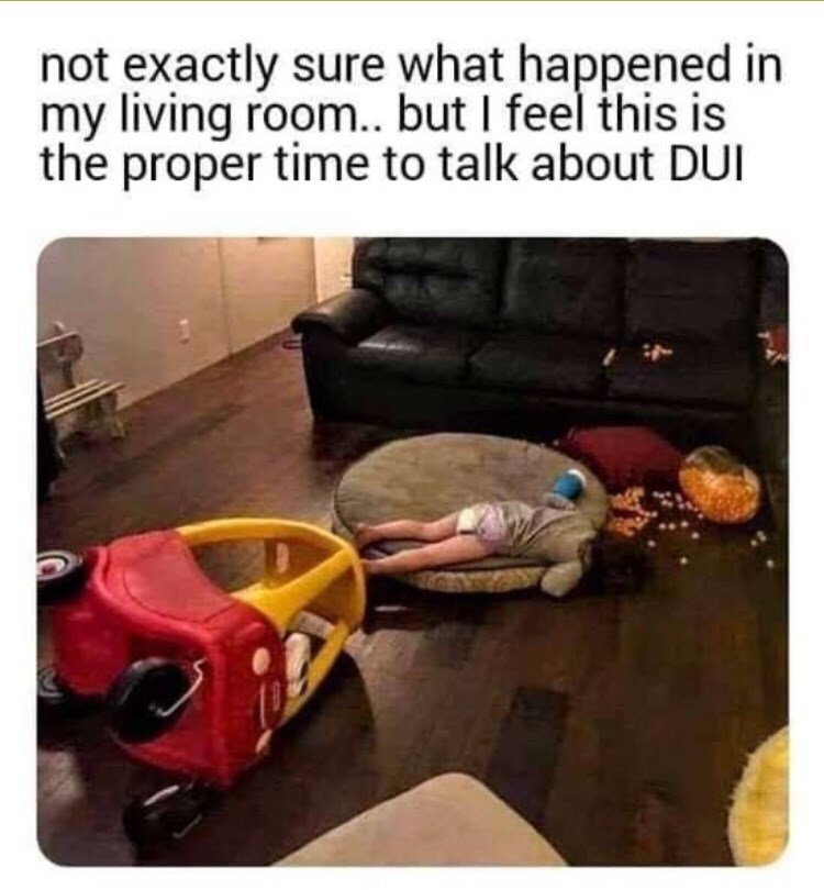 Play - not exactly sure what happened in my living room.. but I feel this is the proper time to talk about DUI