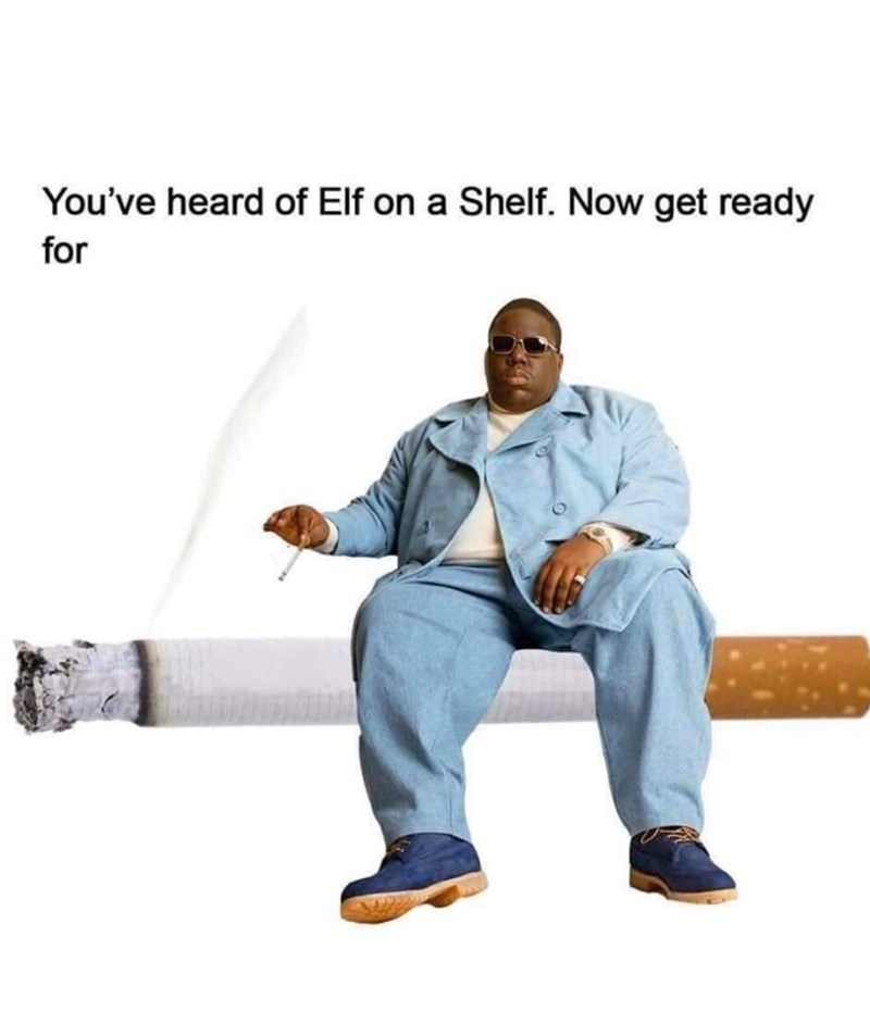 Sitting - You've heard of Elf on a Shelf. Now get ready for
