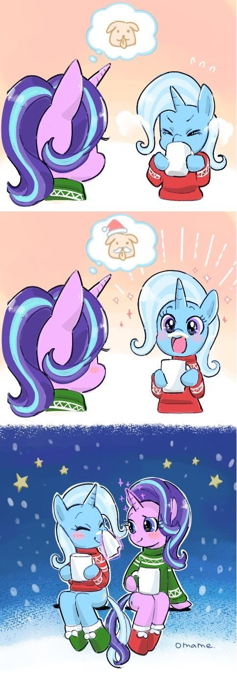 christmas the great and powerful trixie starlight glimmer 5mmumm5 - 9411407360