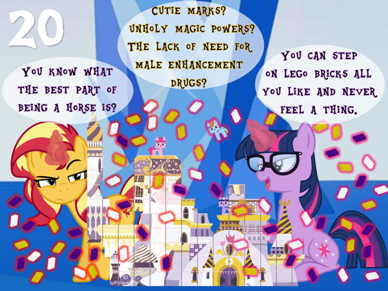 equestria girls scitwi lego twilight sparkle pinkie pie sunset shimmer rainbow dash brony by exception - 9411408128