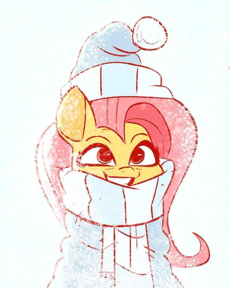 christmas fluttershy fluttershy the kind - 9412195328