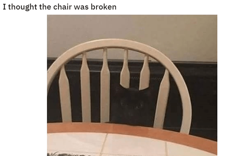 Product - I thought the chair was broken