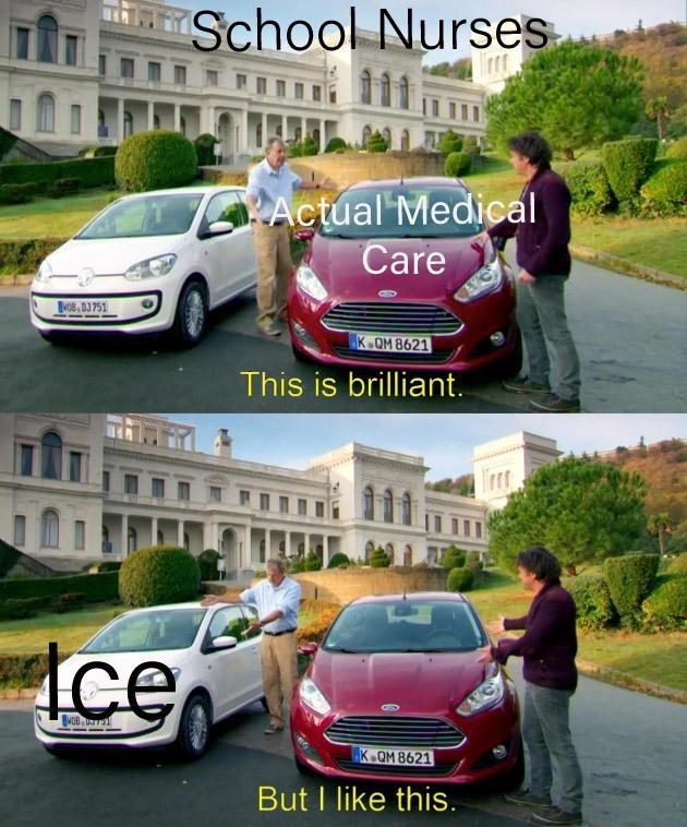 Land vehicle - School Nurses Actual Medical Care Boe, BJ751 K.OM 8621 This is brilliant. Ice K.OM 8621 But I like this.