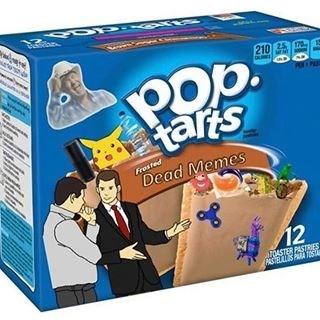 Games - 210 25 POb. tars Frosted Dead Memes 12 TOASTER PASTRIES