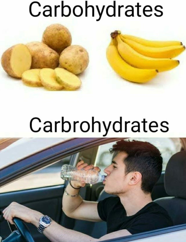 Potato - Carbohydrates Carbrohydrates