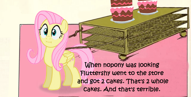 make new friends but keep discord Memes fluttershy lex luthor took forty cakes - 9414041856