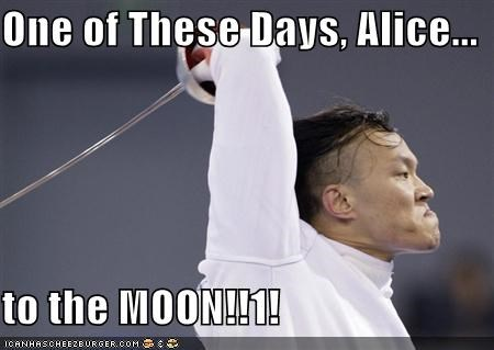One Of These Days Alice To The Moon1 Cheezburger Funny