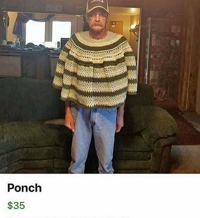 Clothing - Ponch $35