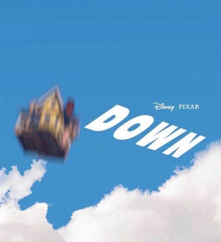 Sky - DisNey PIXAR DOWN