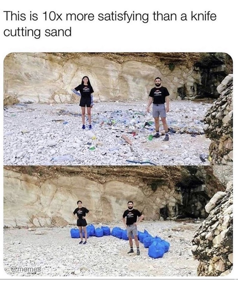 Play - This is 10x more satisfying than a knife cutting sand @memes