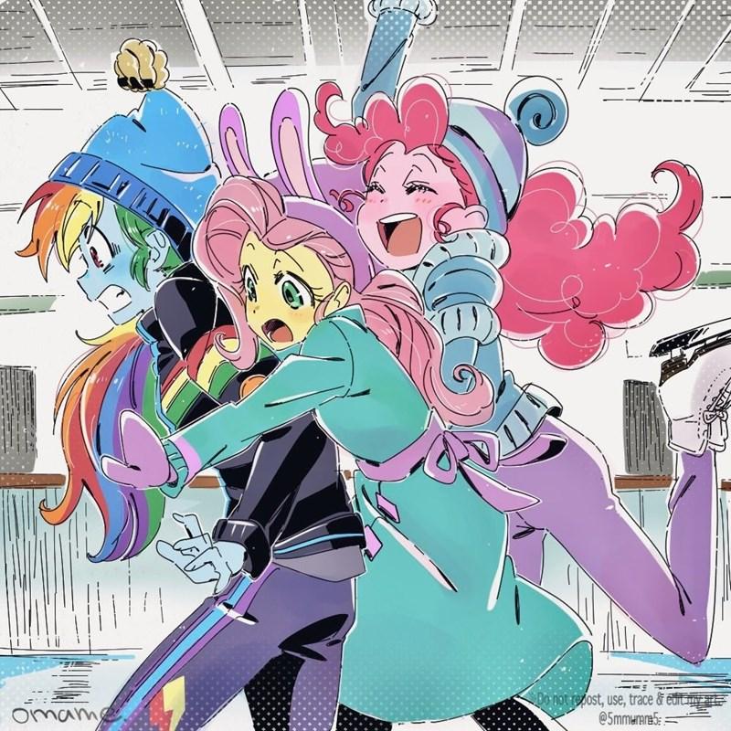 equestria girls pinkie pie 5mmumm5 fluttershy rainbow dash - 9415069440
