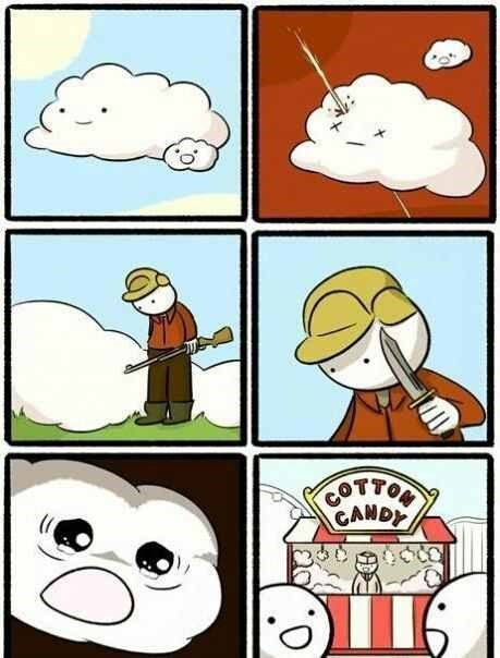 Cartoon - COTTON CANDY