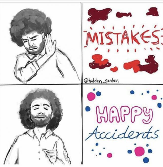 Hair - MISTAKES @hidden-garden HAPPY Accidents