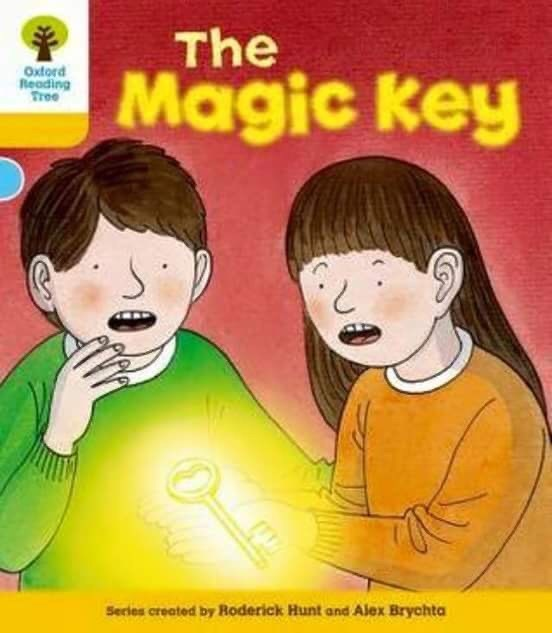 Cartoon - The Magic key Oxtord Reading Tree Series created by Roderick Hunt and Alex Brychta
