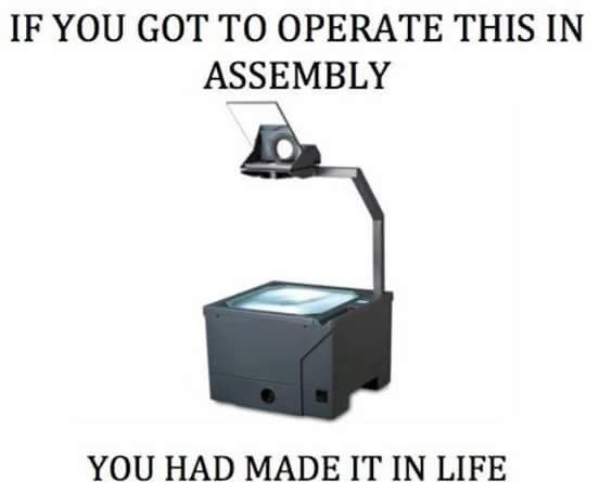 Product - IF YOU GOT TO OPERATE THIS IN ASSEMBLY YOU HAD MADE IT IN LIFE