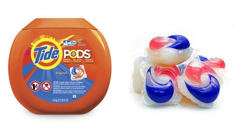 Product - 57 PACS CAPSULAS ide PODS denergert ain remove denergent+ dachant veca brighnener original CAITION LIN n 705 NONSON NOUGY PRECAUCON: suOEKEEIENANO 1.4 kg 3.17 LB)51 02