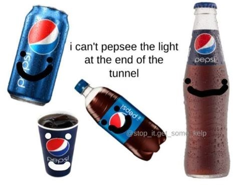 Product - i can't pepsee the light at the end of the tunnel pepsi Isdəd! @stop_it.ge somskelp Peps OS