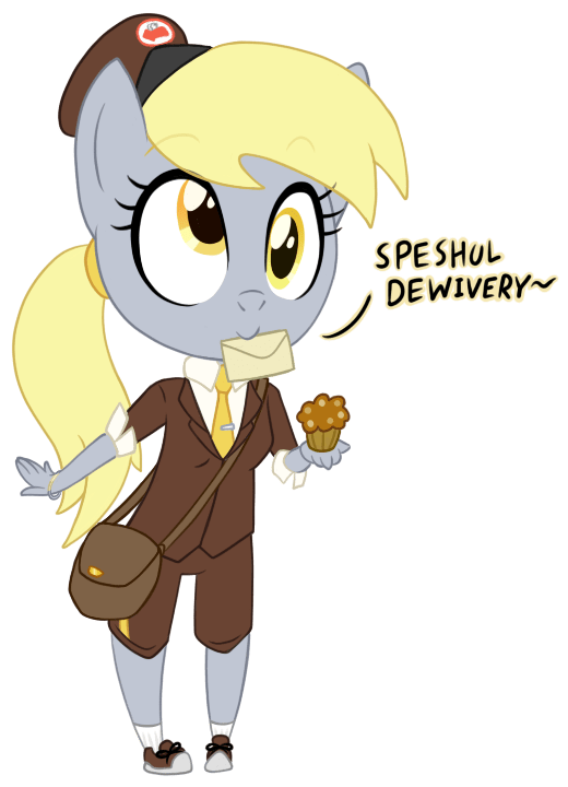 derpy hooves hipster ponies anthropomorphic - 9417341440