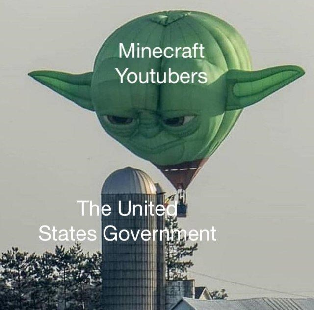Yoda - Minecraft Youtubers The United States Government