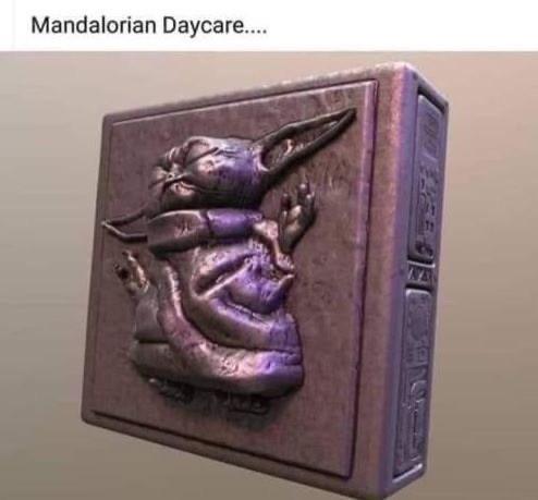 Relief - Mandalorian Daycare...