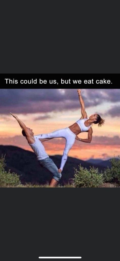 Capoeira - This could be us, but we eat cake.