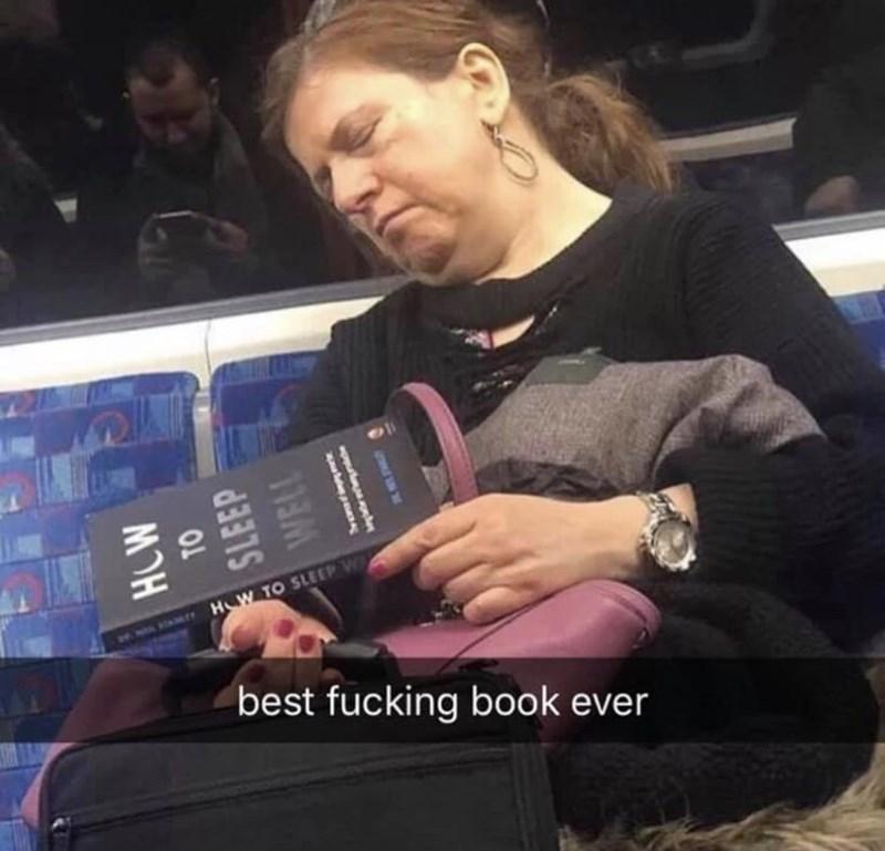 Hand - HW TO SLEEP W ं ै ए best fucking book ever