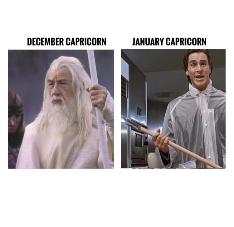 Head - DECEMBER CAPRICORN JANUARY CAPRICORN