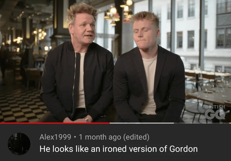 Snapshot - BRITISH Alex1999 • 1 month ago (edited) He looks like an ironed version of Gordon