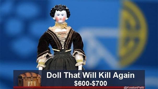 Games - Doll That Will Kill Again $600-$700 AR @KeatonPatti