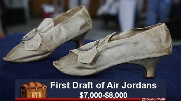 Footwear - First Draft of Air Jordans AR $7,000-$8,000 @KeatonPatti