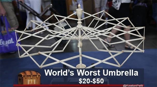 Eual World's Worst Umbrella AR $20-$50 @KeatonPatti