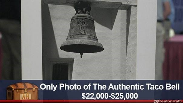 Bell - Only Photo of The Authentic Taco Bell $22,000-$25,000 AR @KeatonPatti