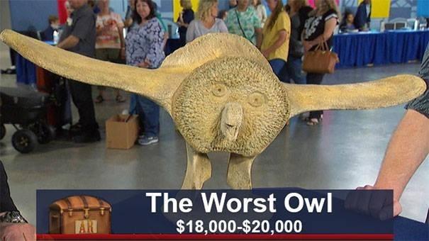 Dinosaur - The Worst Owl $18,000-$20,000 AR