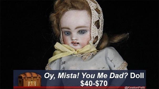 Nose - Oy, Mista! You Me Dad? Doll $40-$70 AR @KeatonPatti
