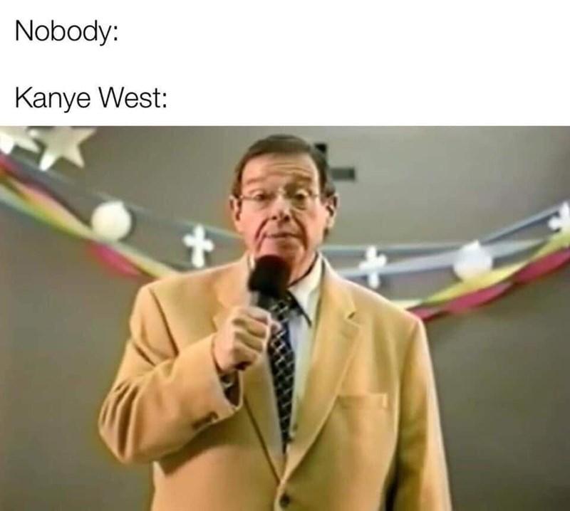 Speech - Nobody: Kanye West: