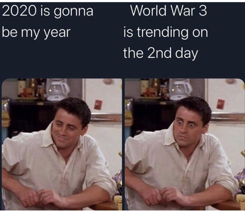 Text - World War 3 2020 is gonna is trending on be my year the 2nd day
