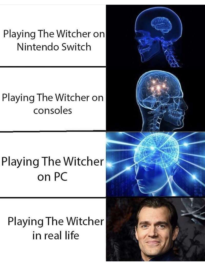 Medical imaging - Playing The Witcher on Nintendo Switch Playing The Witcher on consoles Playing The Witcher on PC Playing The Witcher in real life