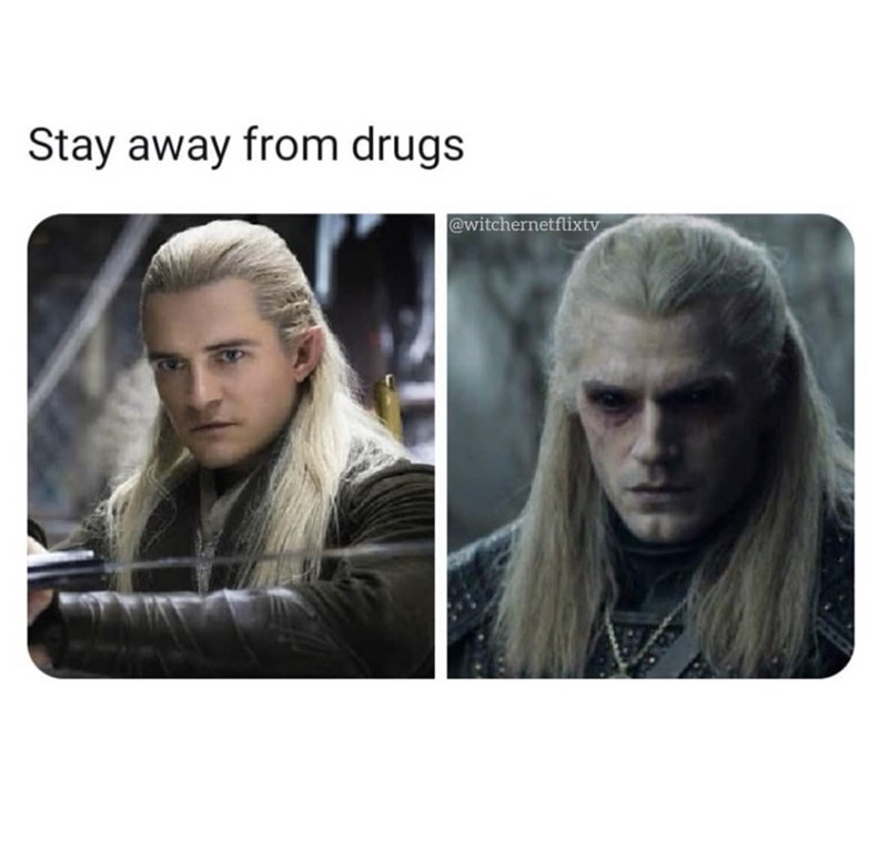 Fictional character - Stay away from drugs @witchernetflixtv