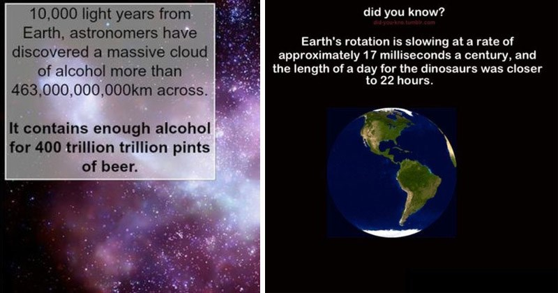 Interesting facts about astronomy