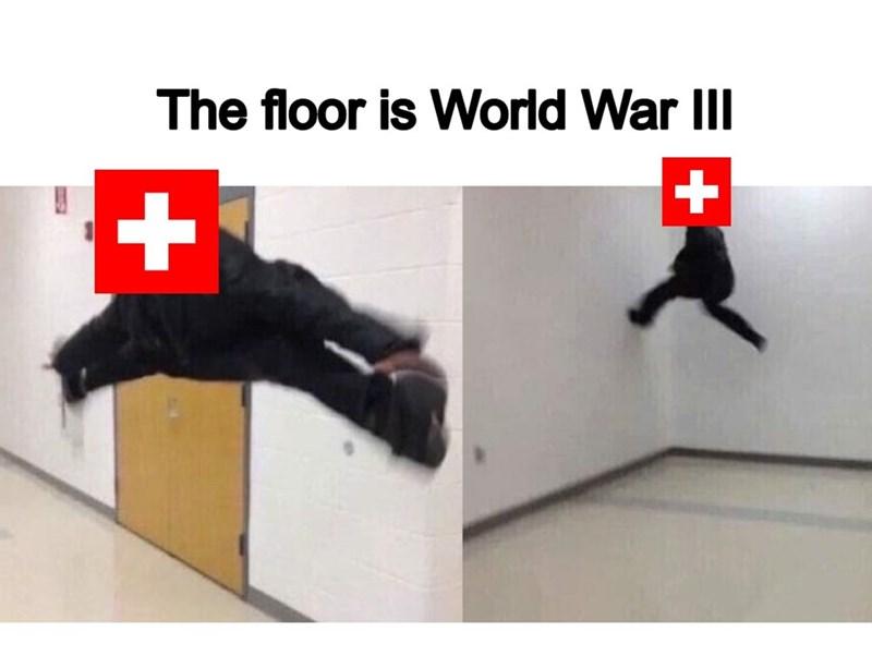 Kick - The floor is World War II