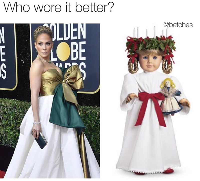 Pattern - Who wore it better? @betches LDEN LOBE E