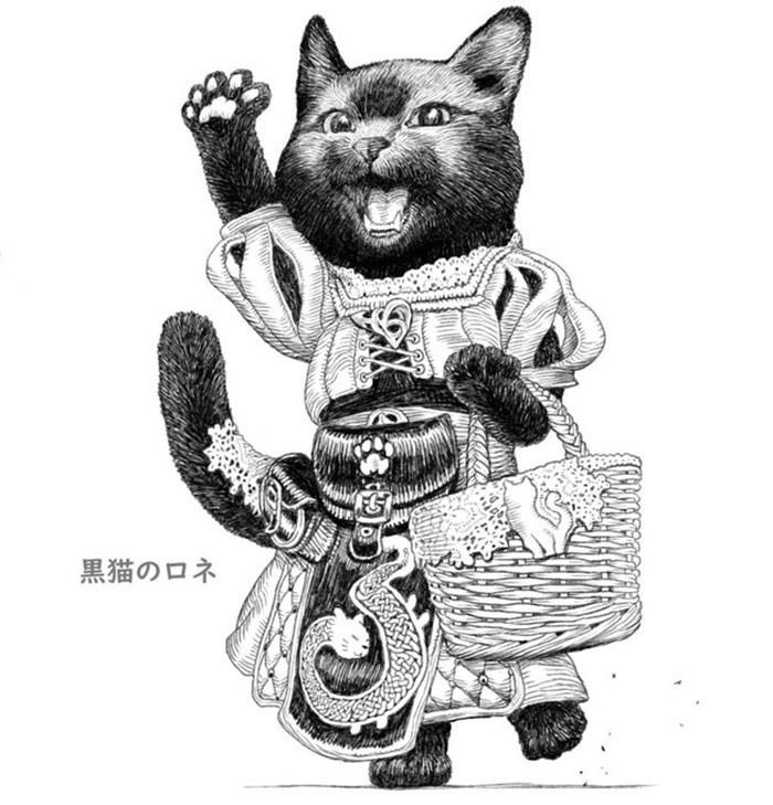 Cat - 黒猫のロネ