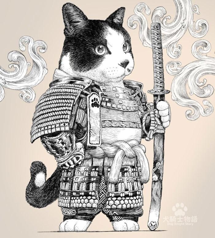 Cat - DED 「犬騎士物語 Dog Knight Story